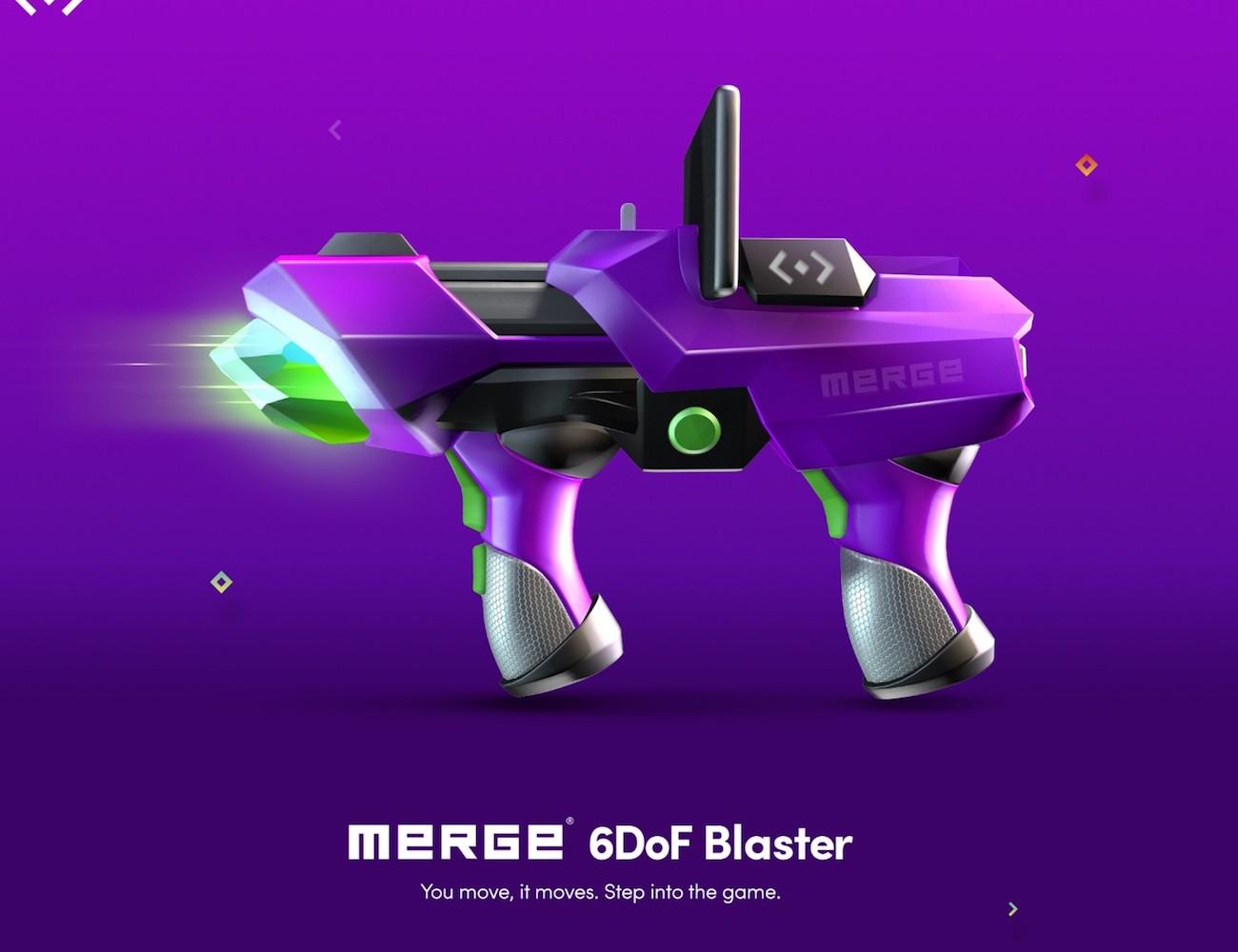 Merge VR 6DoF Blaster Game Controller