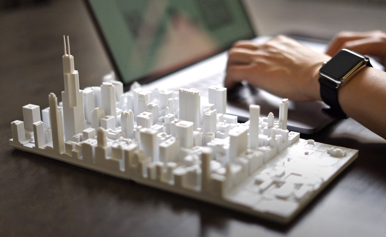 3D-Printed+Cityscape+Models