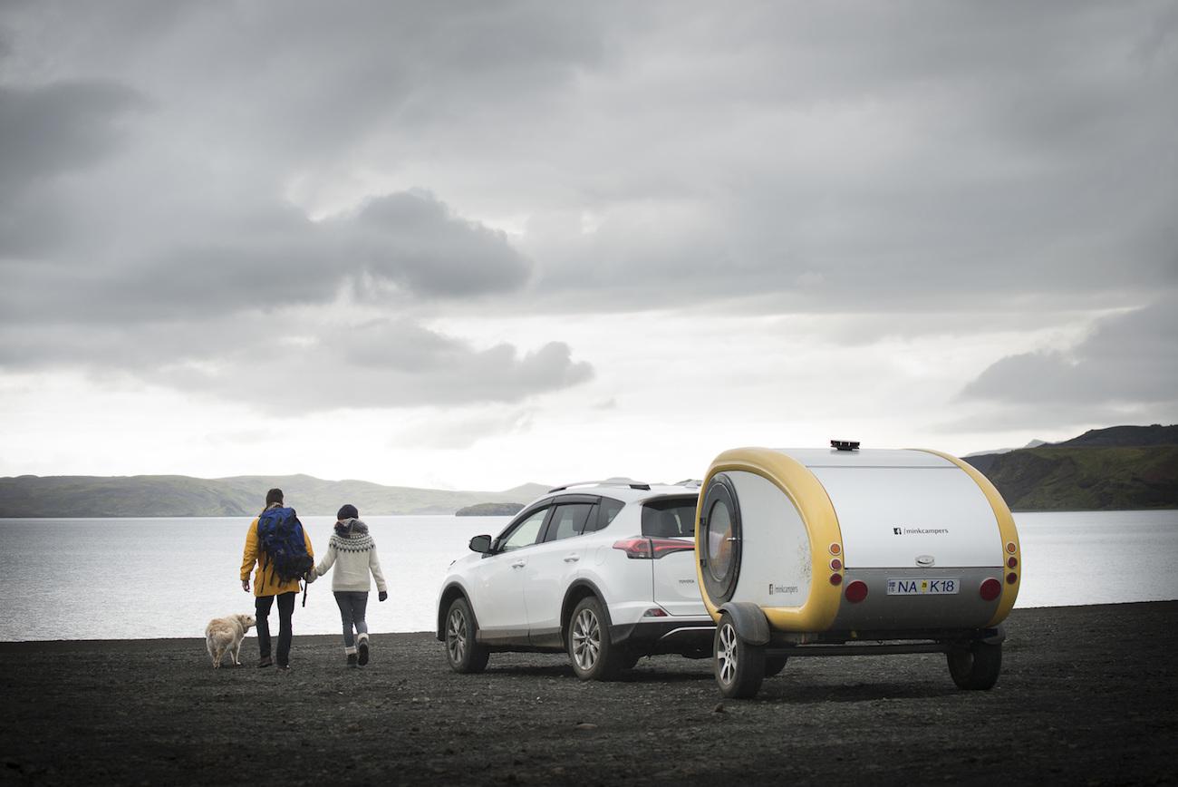 Mink Camper Icelandic Mini Trailer