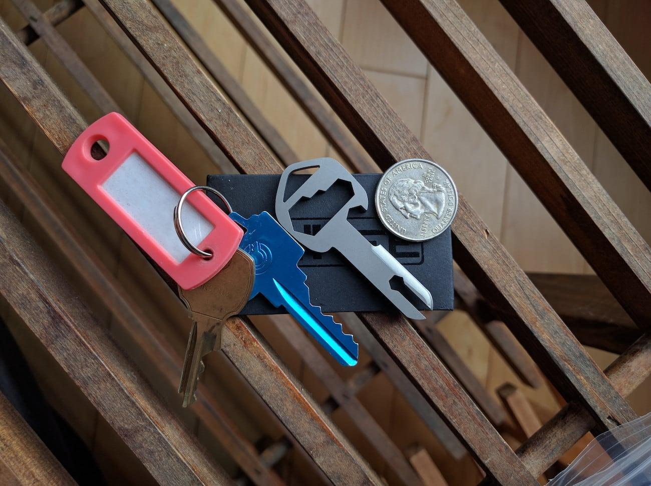 MyKee Titanium Multi-Tool Key