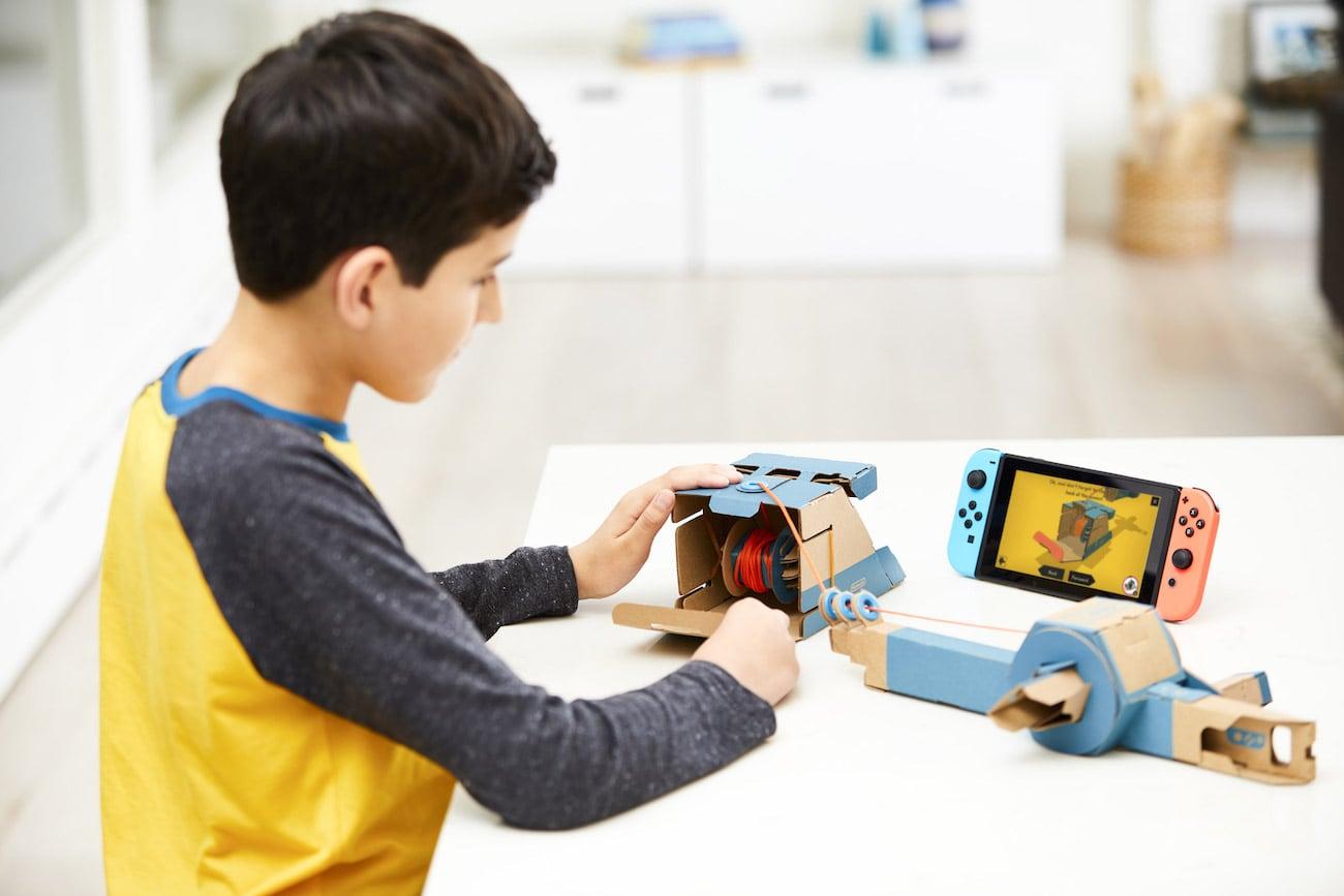 Nintendo Labo DIY Cardboard Accessories