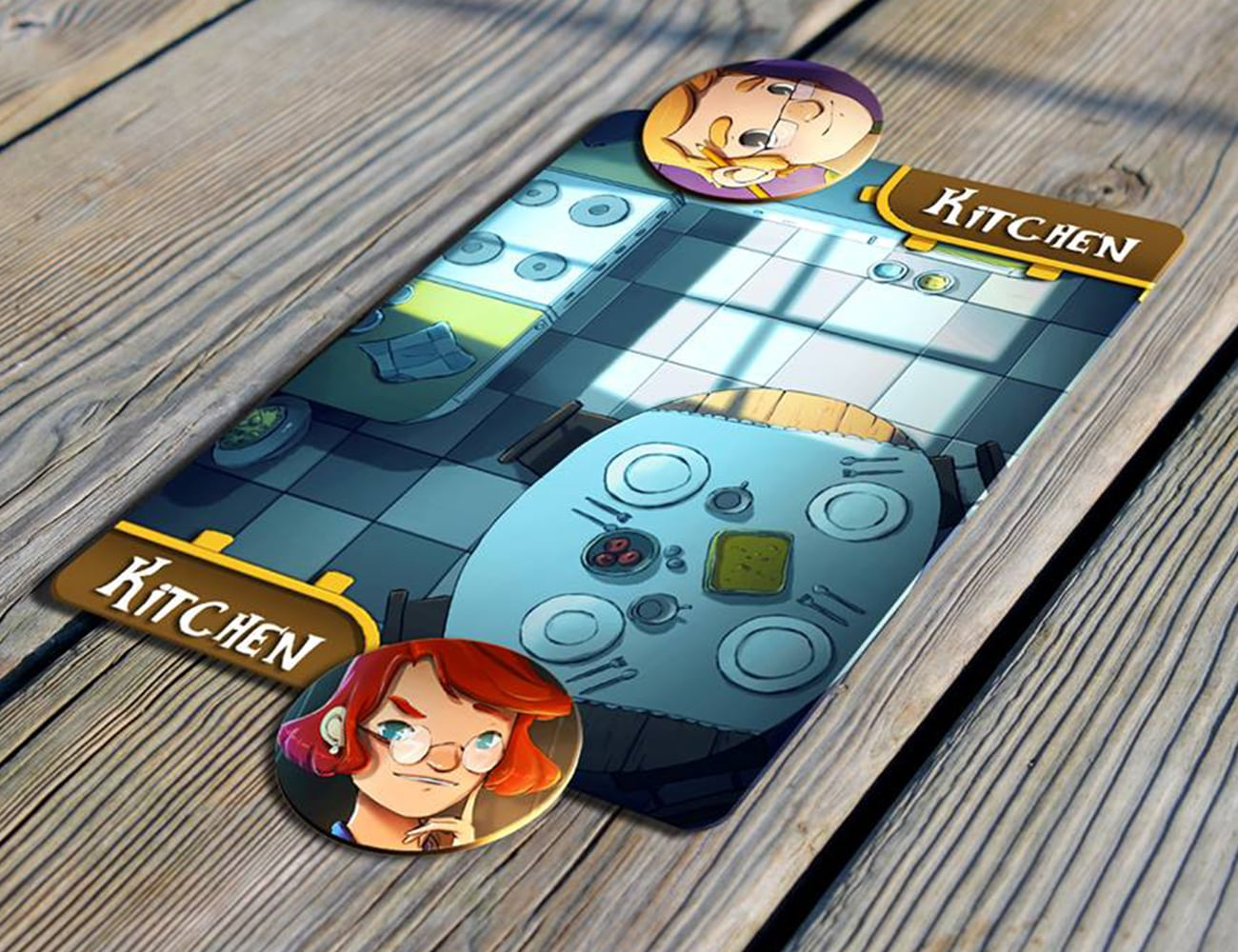 Noises At Night Deduction Card Game