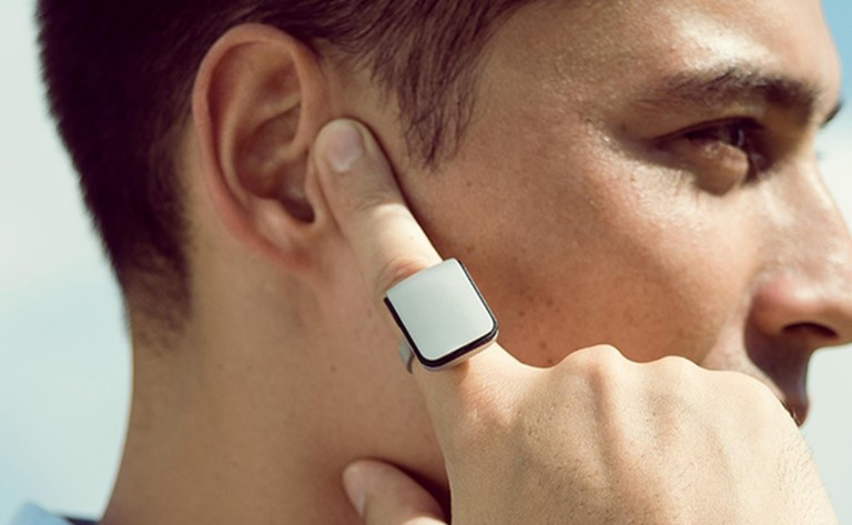 ORII Voice-Powered Smart Ring uses bone conduction to transcribe text messages