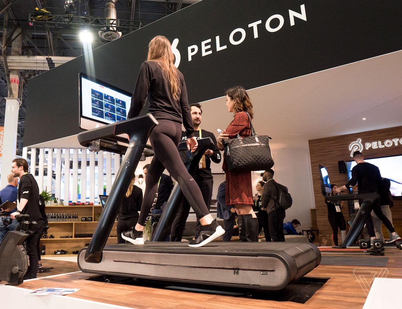 Peloton+Tread+Smart+Indoor+Exercise+Machine