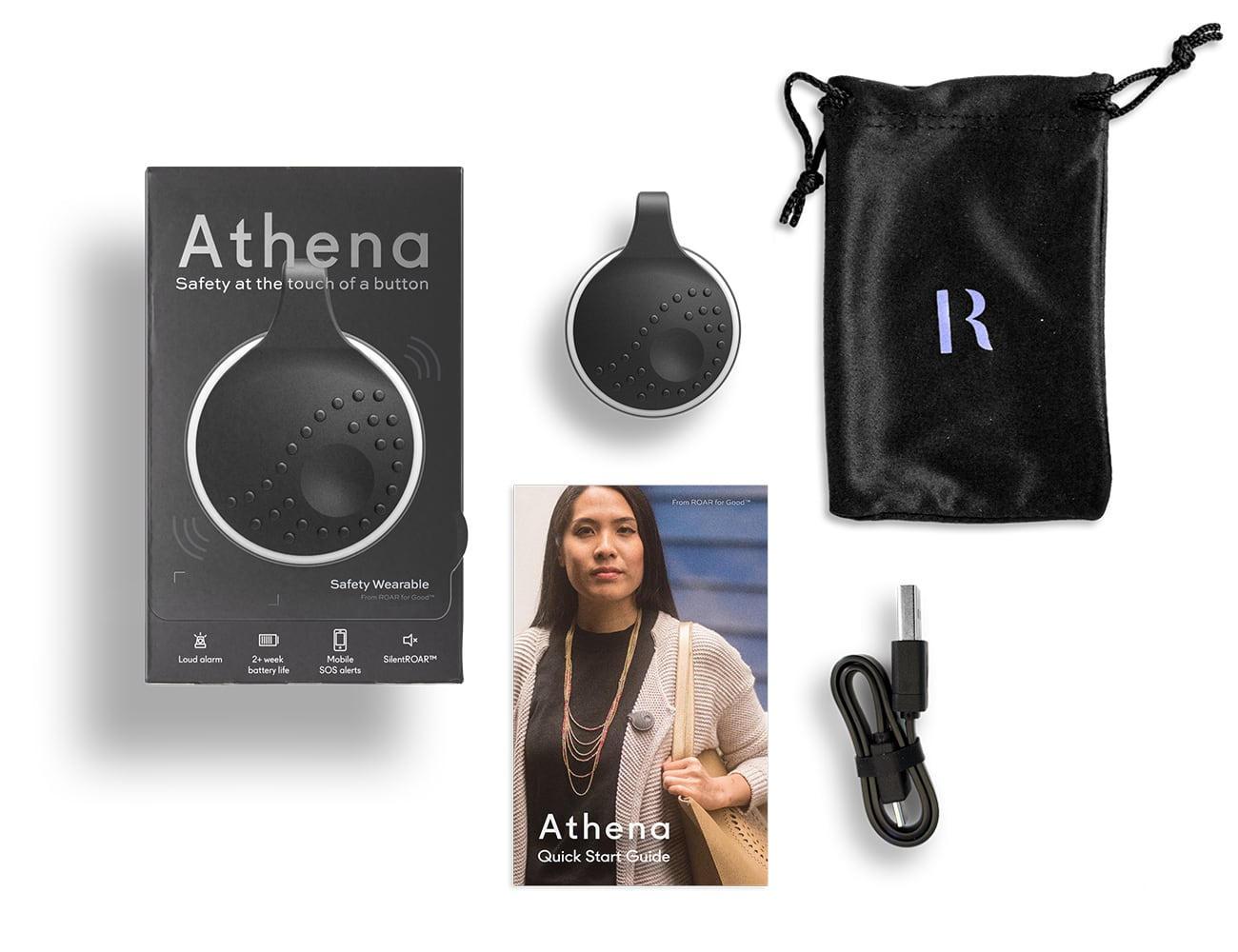 Athena – Smart Safety Wearable