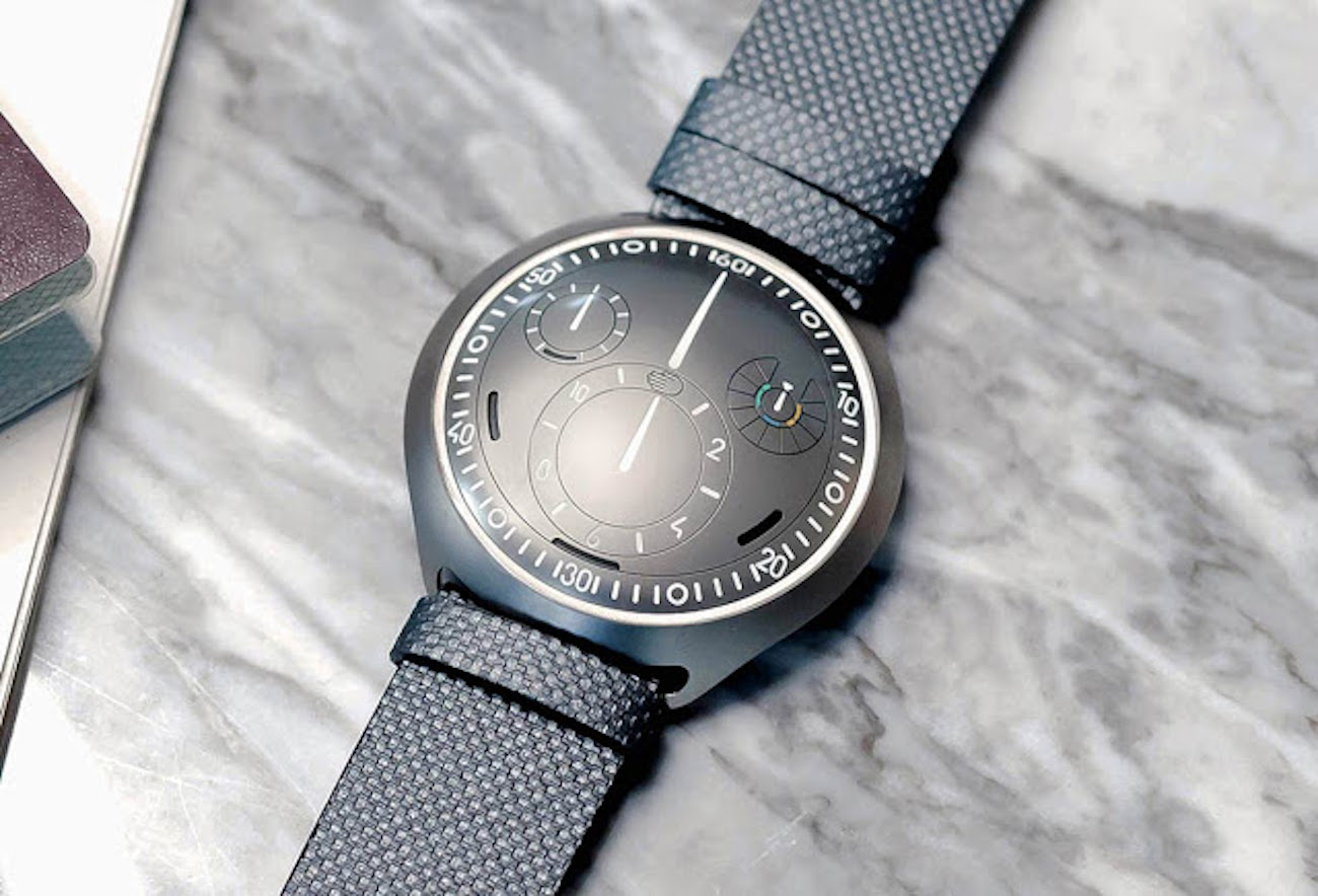 Ressence Type 2 E-Crown Self-Setting Mechanical Watch