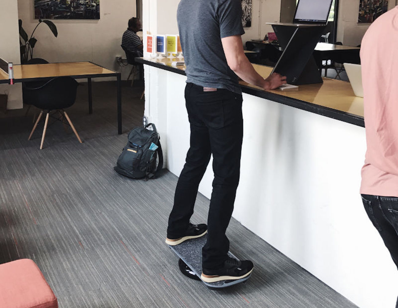 Revolution Focus Standing Desk Balance Board 187 Gadget Flow