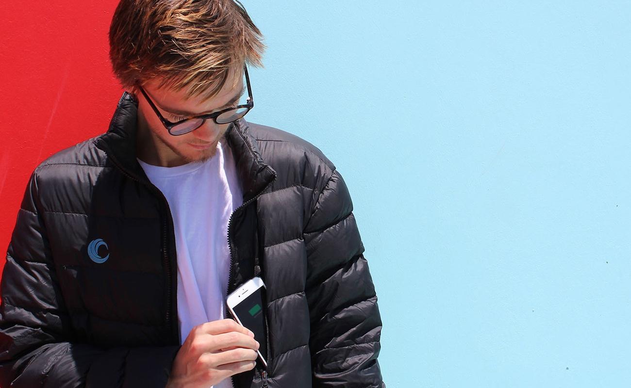 SNOW-C Smart Wireless Charging Jacket