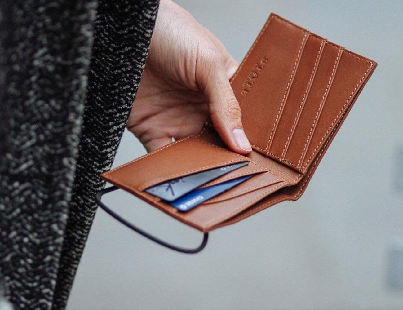 STATE Bags Hanover Leather Wallet