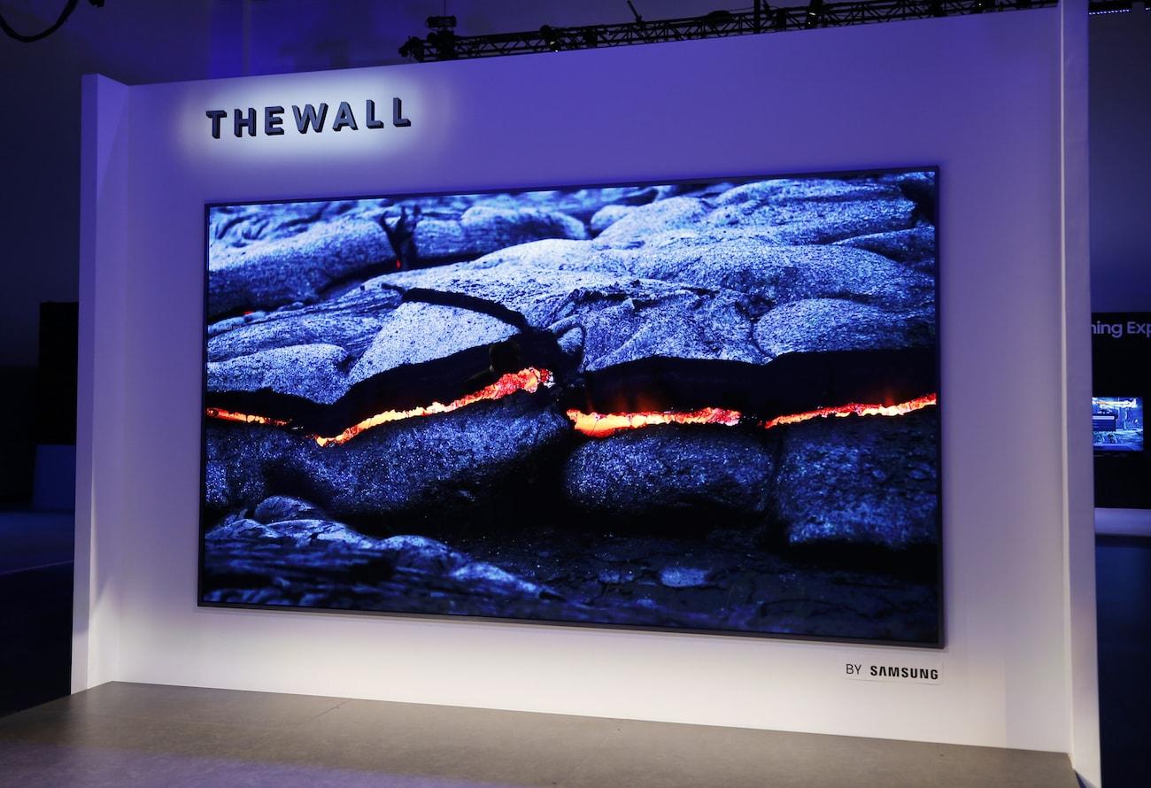 Samsung Wall Modular MicroLED TV