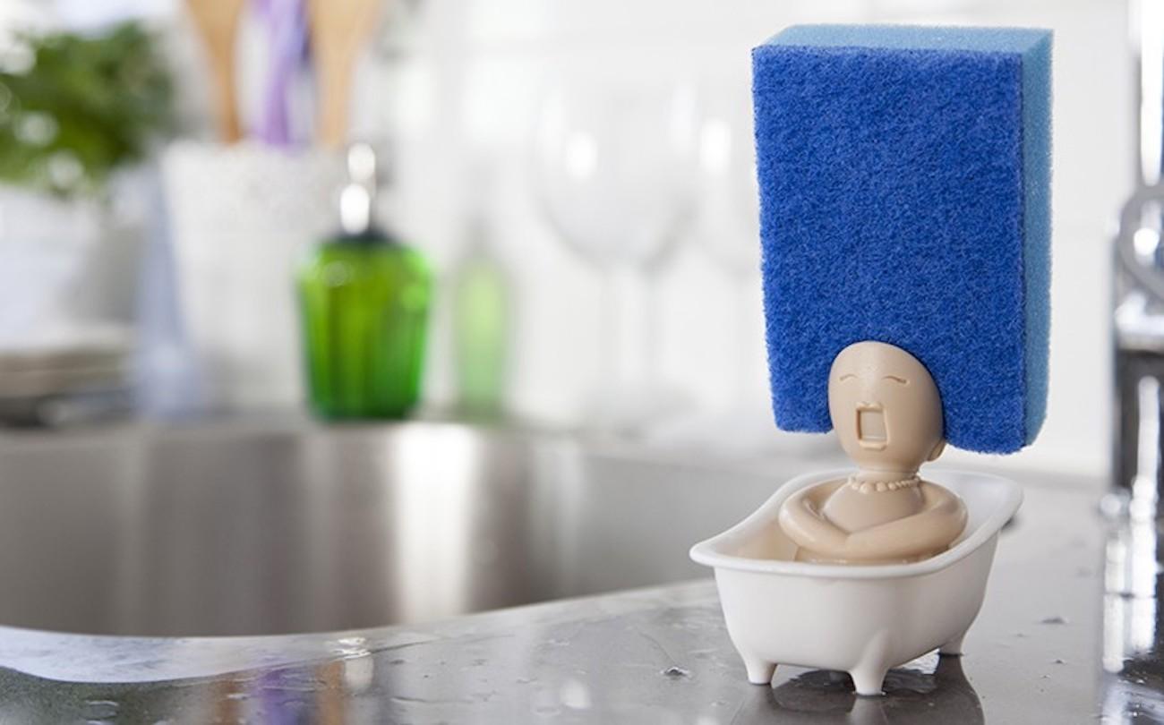 Soap Opera Dish Scrubber Holder » Gadget Flow