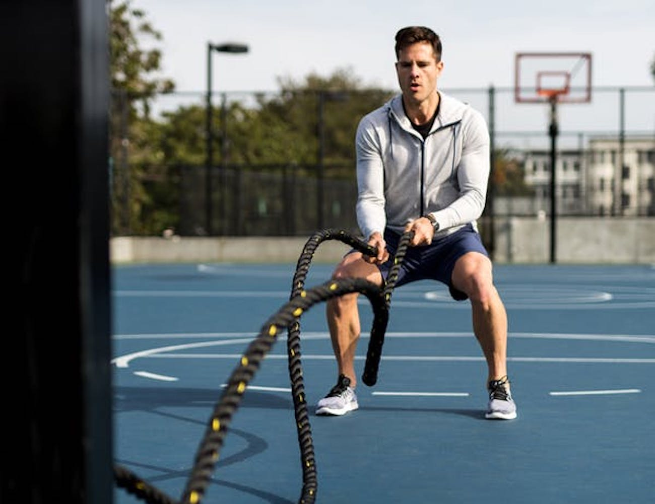 TRX Exercise Battle Rope