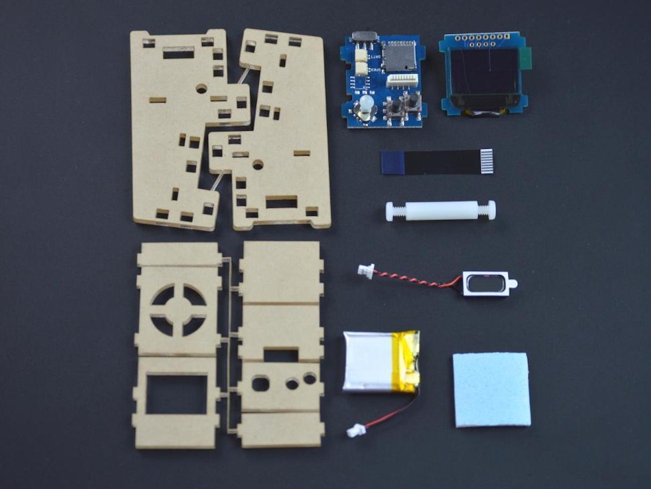Tiny Arcade Retro Playable Game Cabinet