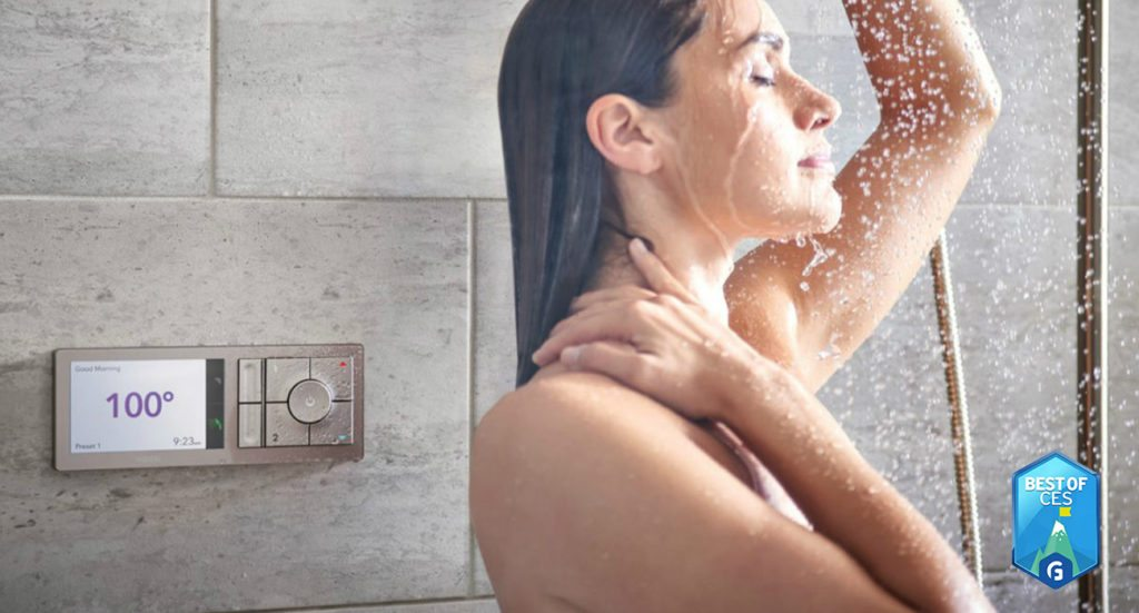 U by Moen Smart Shower CES 2018
