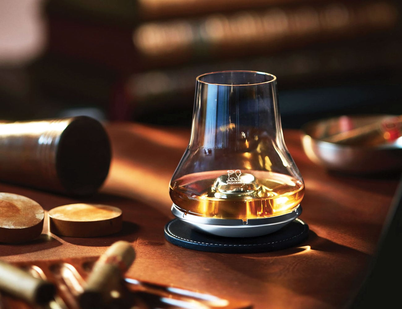 """<em class=""""algolia-search-highlight"""">Whiskey</em> Tasting Glass and Chilling Coaster"""
