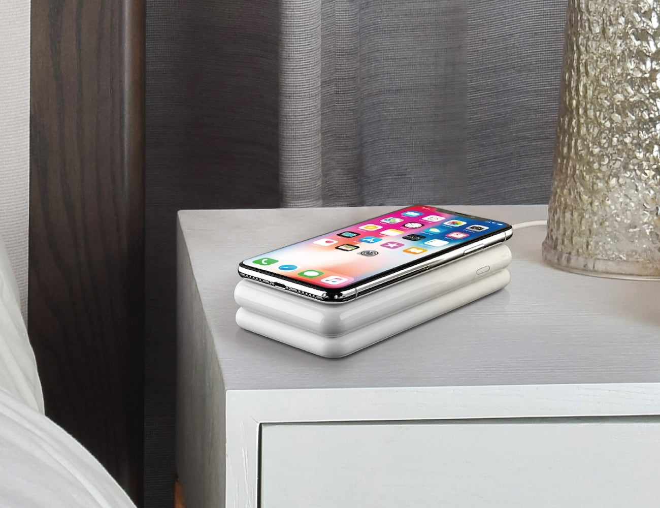 WiBa Wireless Power Bank Charging Dock