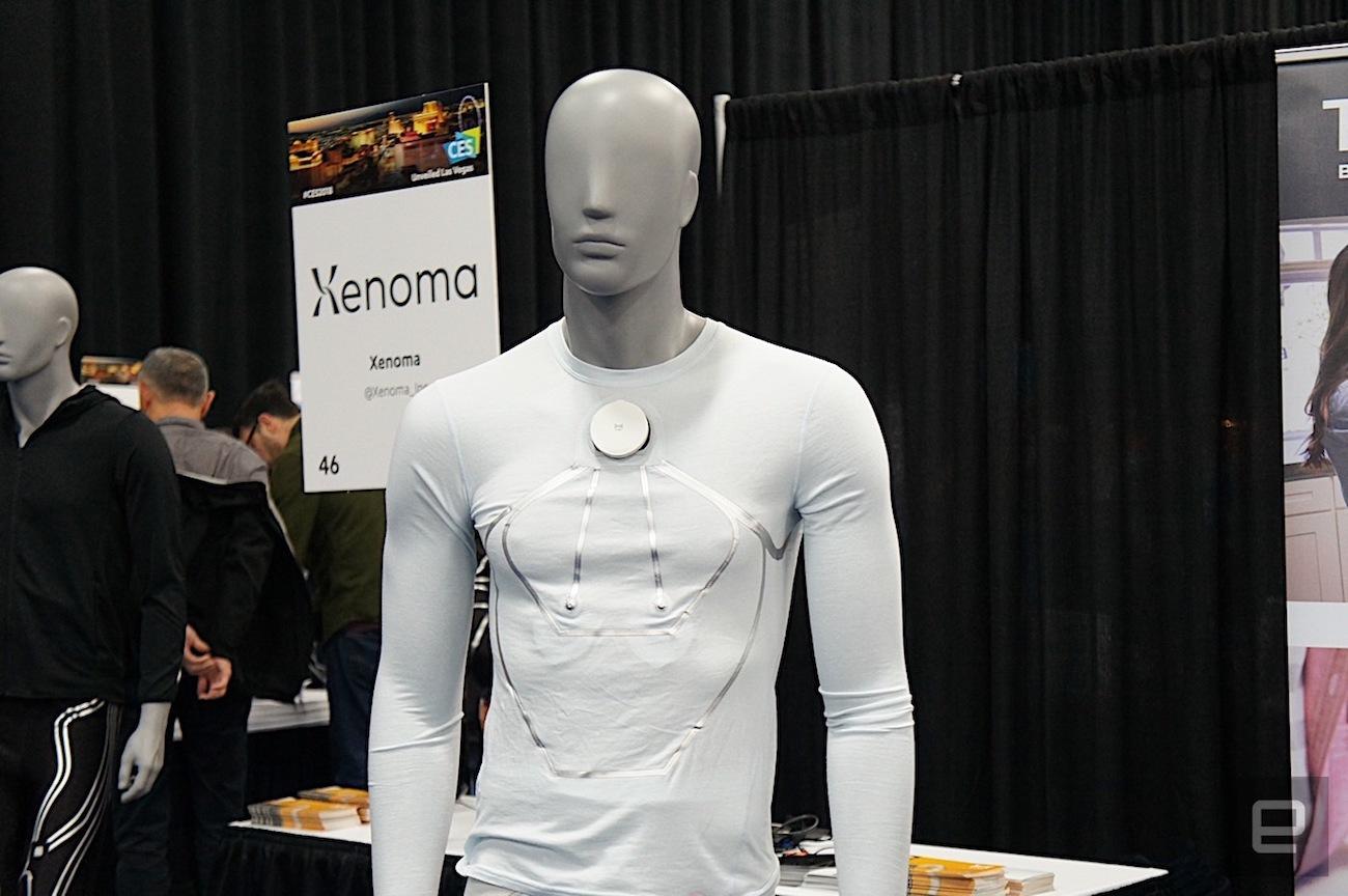 Xenoma E-Skin Smart Pajamas