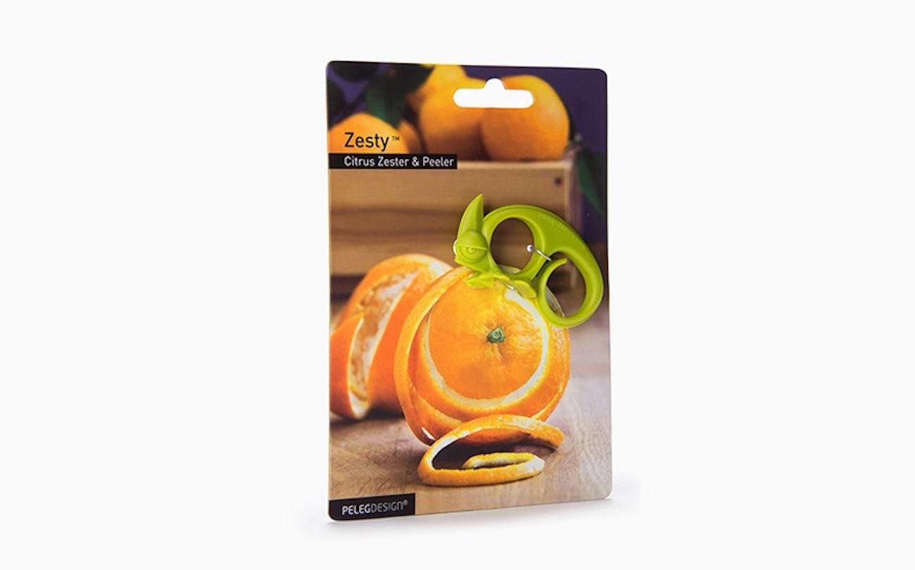 Zesty 2-in-1 Citrus Zester and Peeler