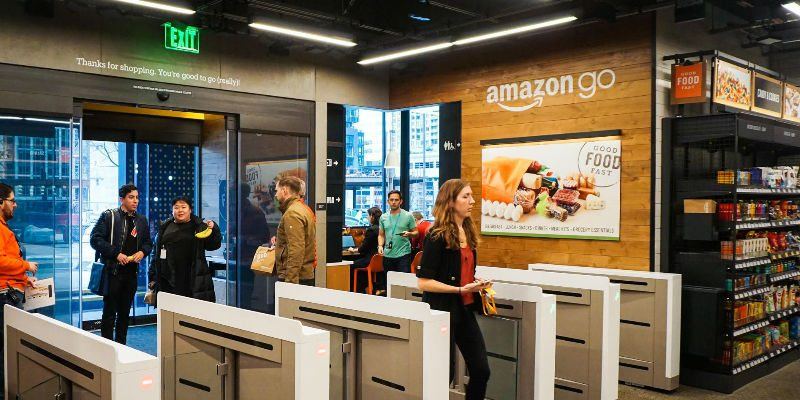 No lines, No checkout at Amazon Go