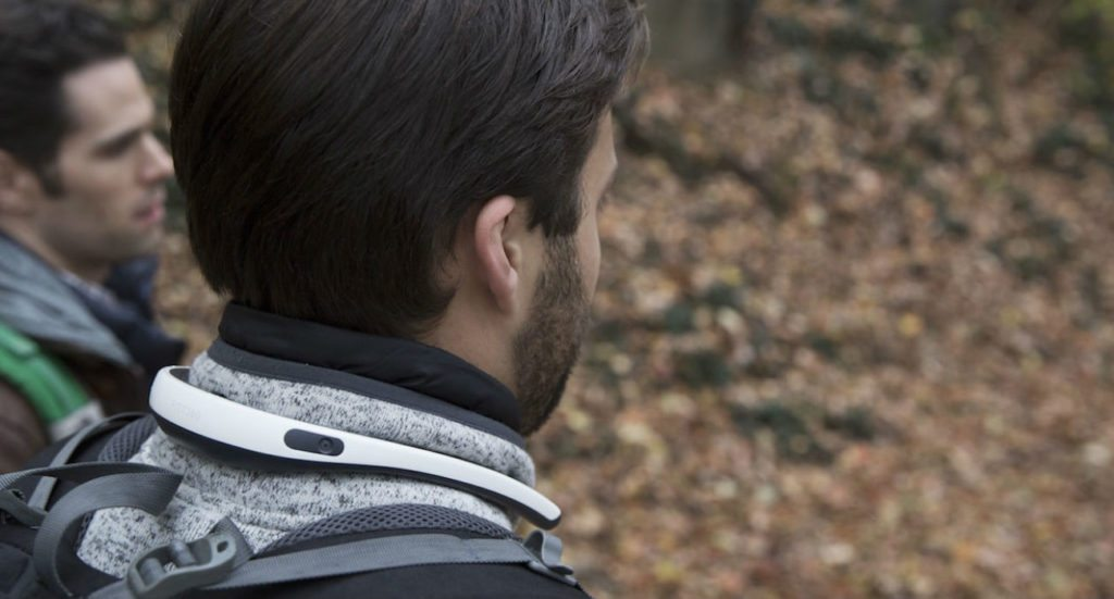 FITT360 Neckband Wearable Camera