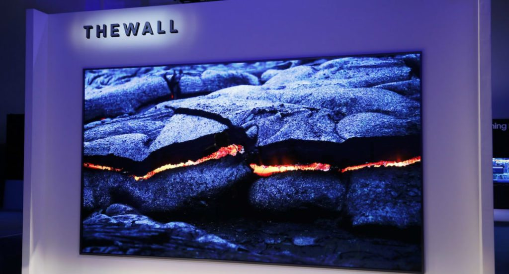 Samsung Wall Modular MicroLED TV