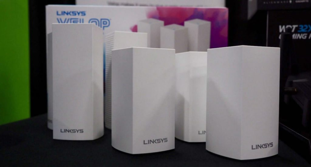 New Velop Dual-Band Mesh Router