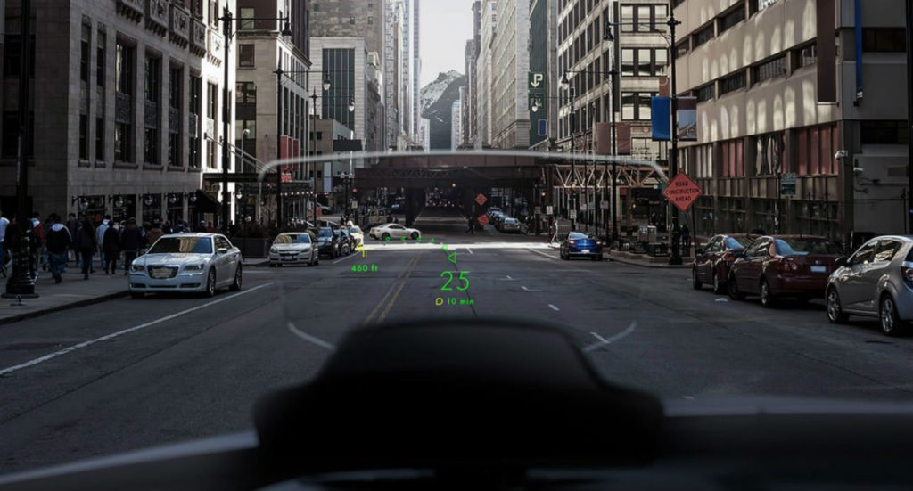 NAVION Augmented Reality Car HUD