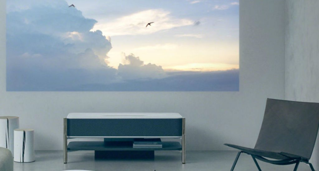 Sony 4K Ultra Short Throw Laser Projector