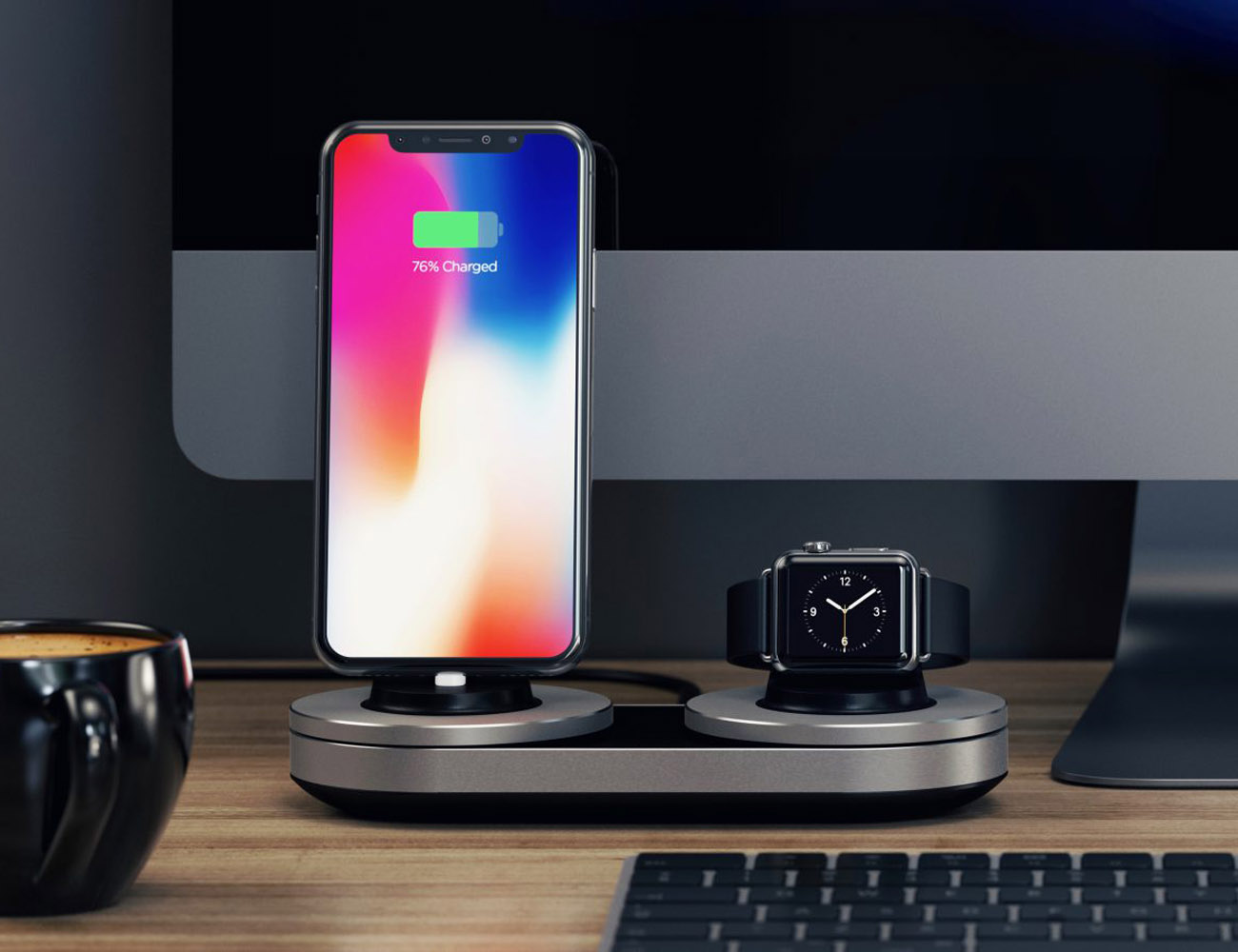 Smart+Dual+Charging+Station+For+Apple+Watch+And+IPhone