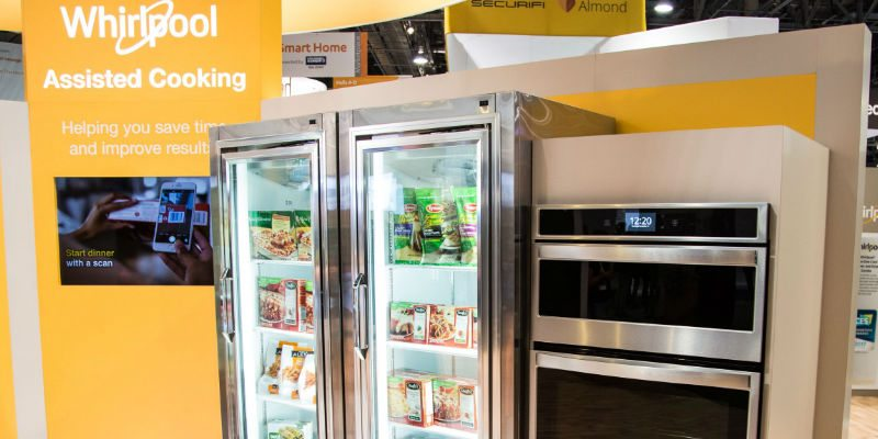 Whirlpool Kitchen Concept CES 2018 Stall