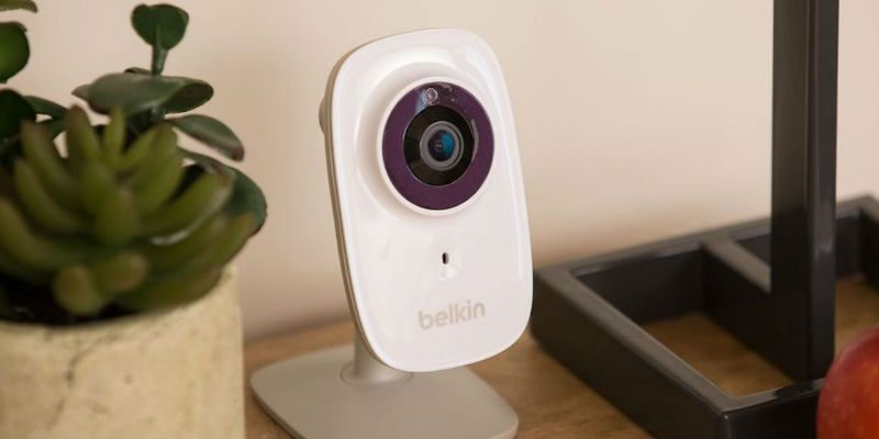 Home security cameras in the house