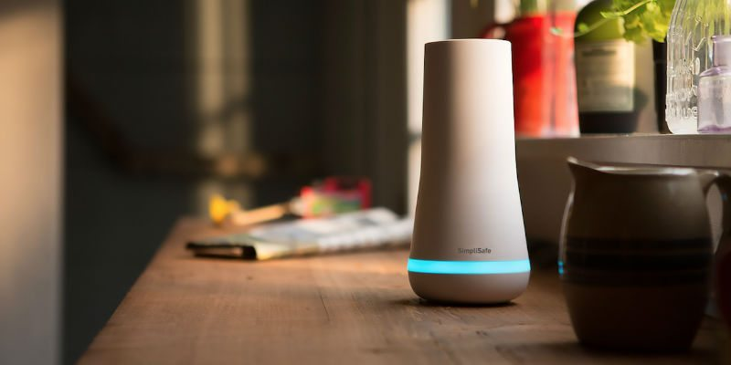 Simplisafe all-in-one home security system