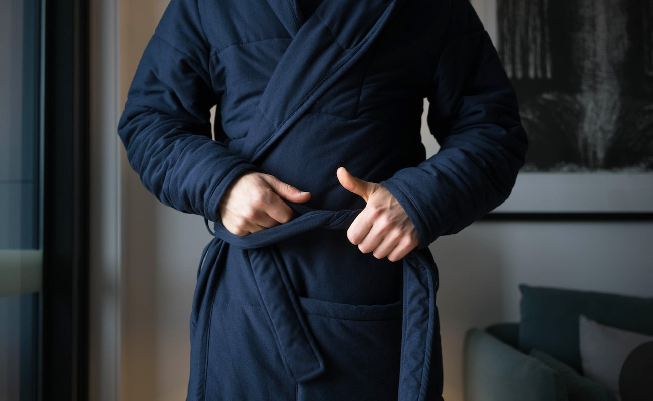 Enjoy Incredible Comfort with the Sento Luxury Bathrobe