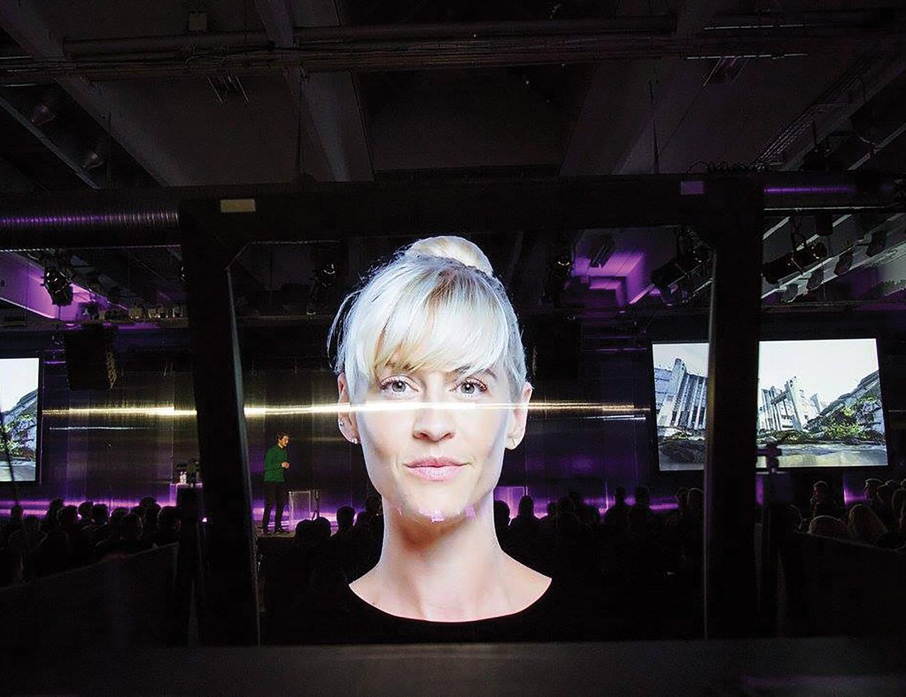 DeepFrame Life Size Augmented Reality Display