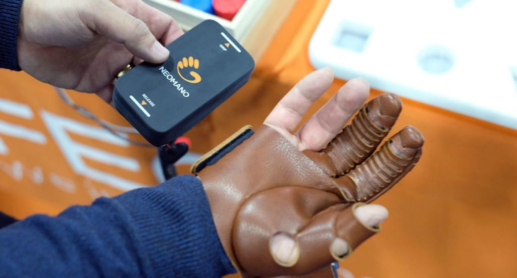 NeoMano Wearable Hand Robotic