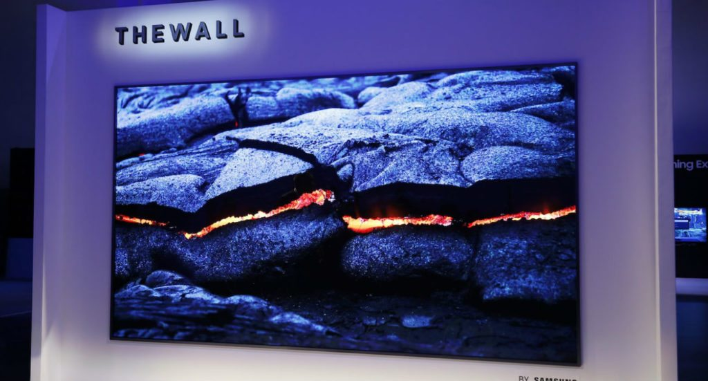 The Wall Samsung Modular Smart TV