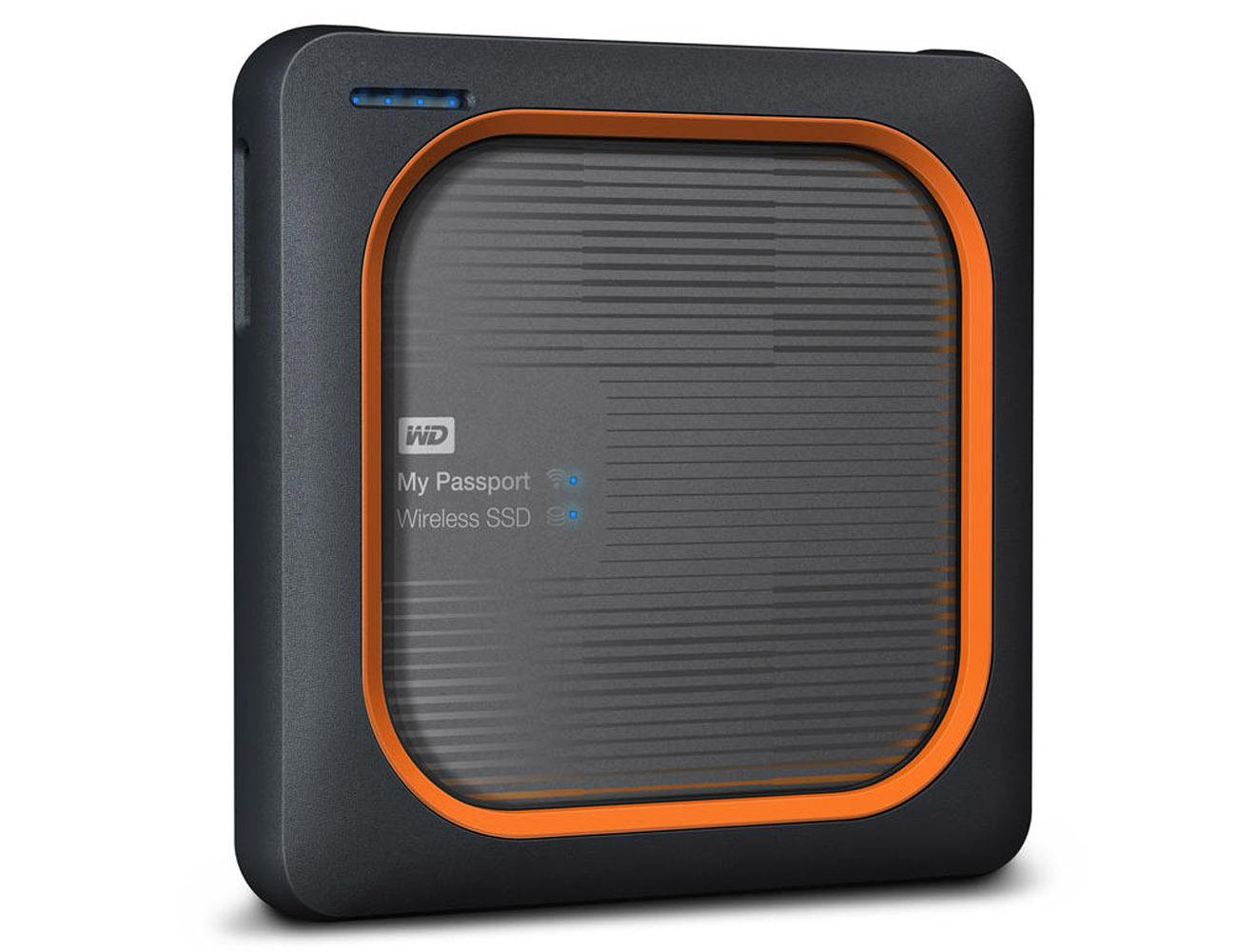 My Passport Wireless Shock-Resistant SSD