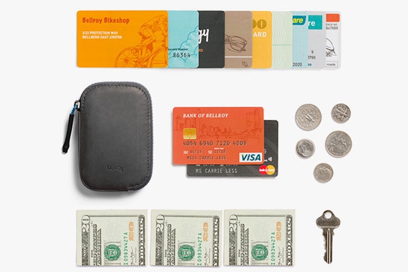 Bellroy All Conditions Wallet Water Resistant Leather Wallet