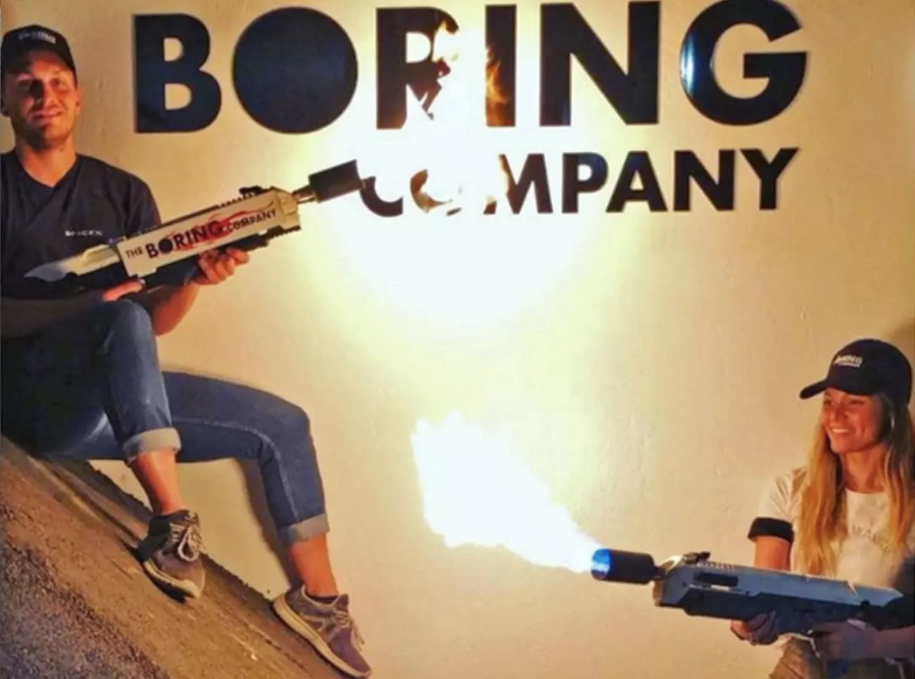 Boring Company Handheld Flamethrower