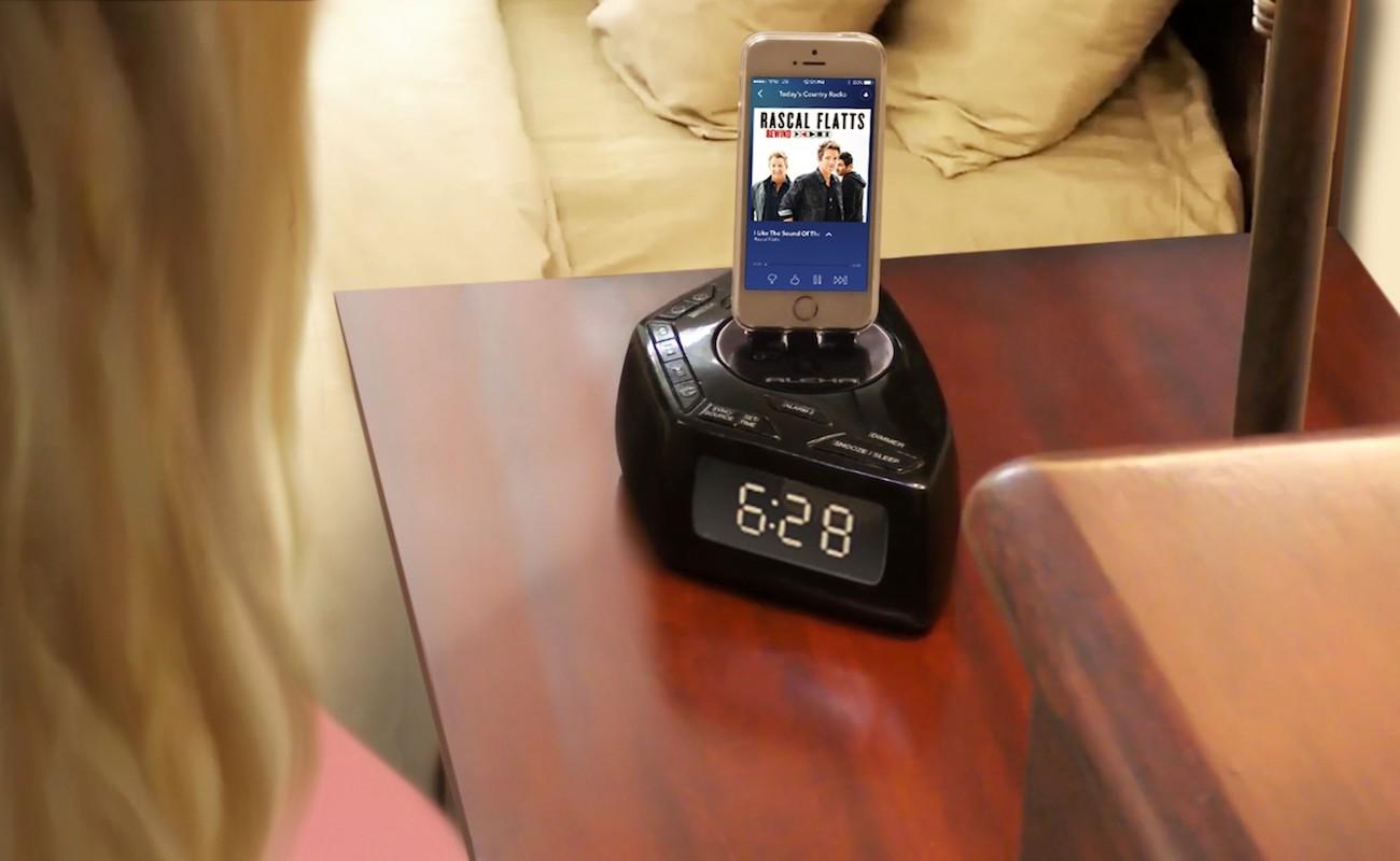 DUAXI TimeShare Dual Display Alarm Clock