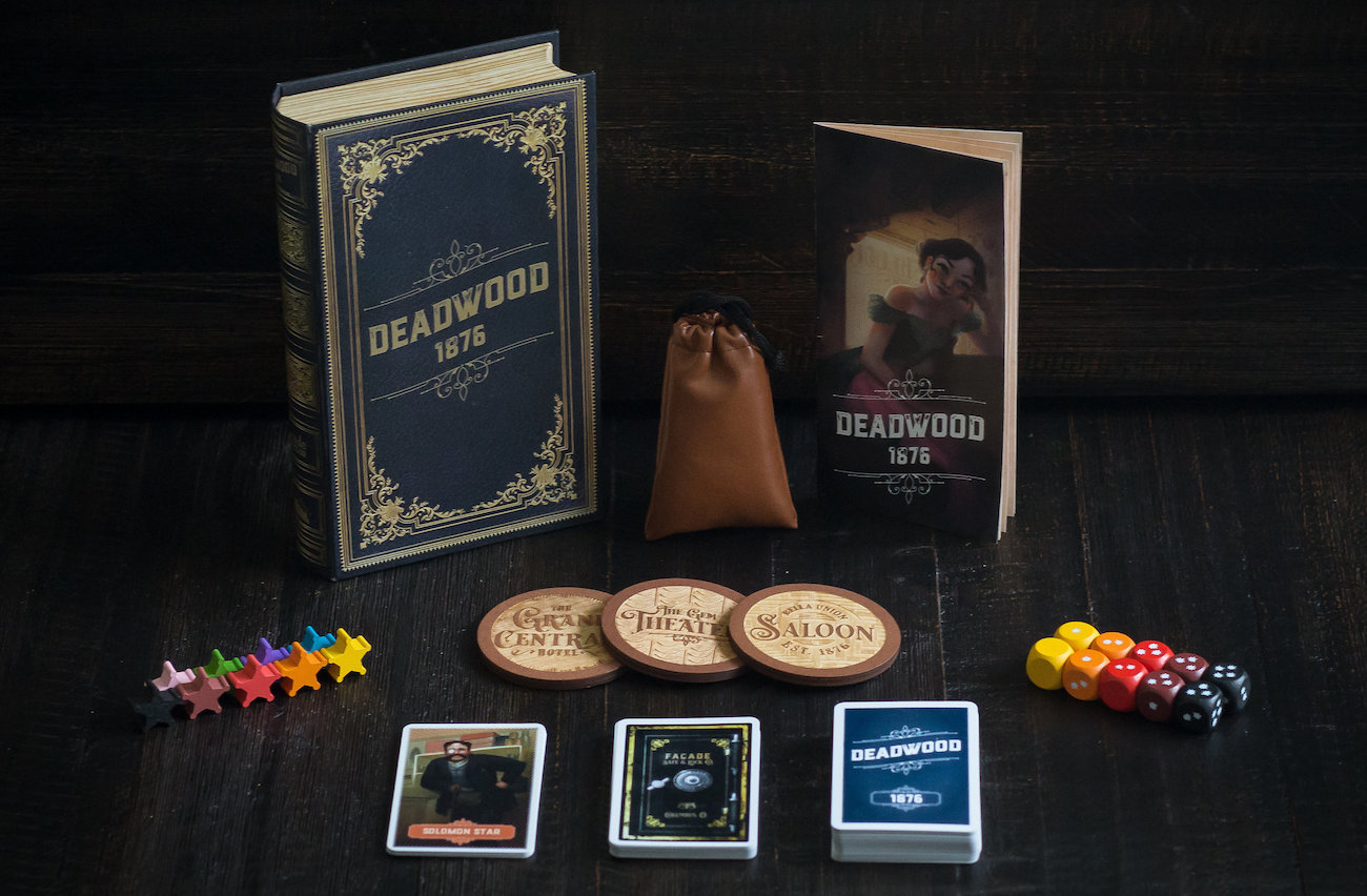 Deadwood 1876 Social Deduction Game