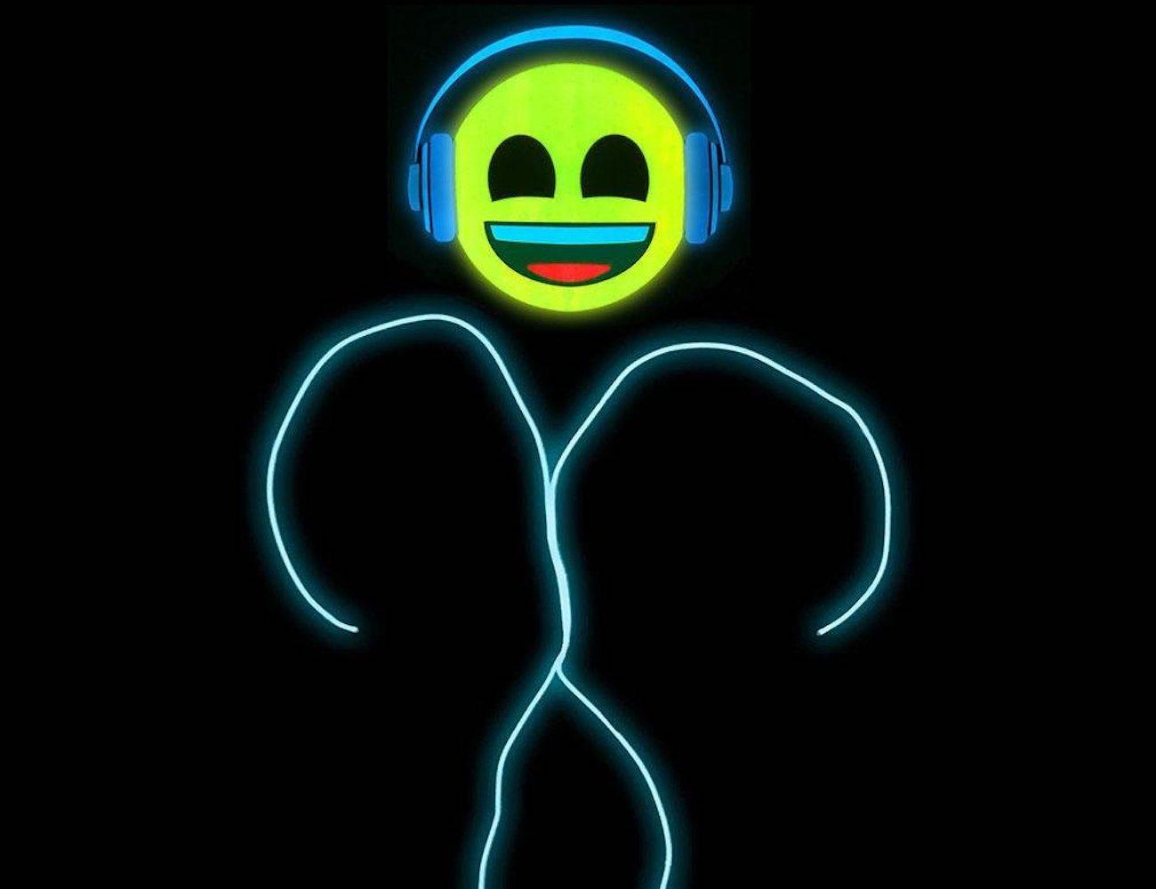 GlowCity Emoji Stick Figure Costumes
