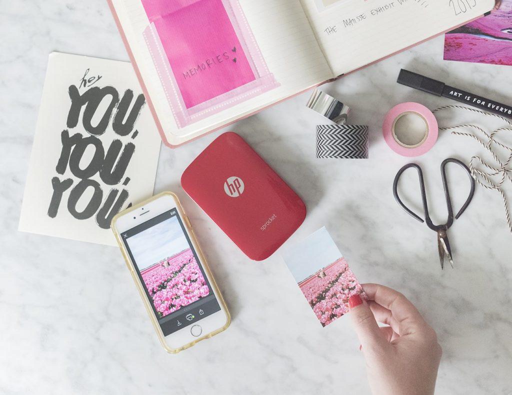 HP+Sprocket+Mobile+Photo+Printer