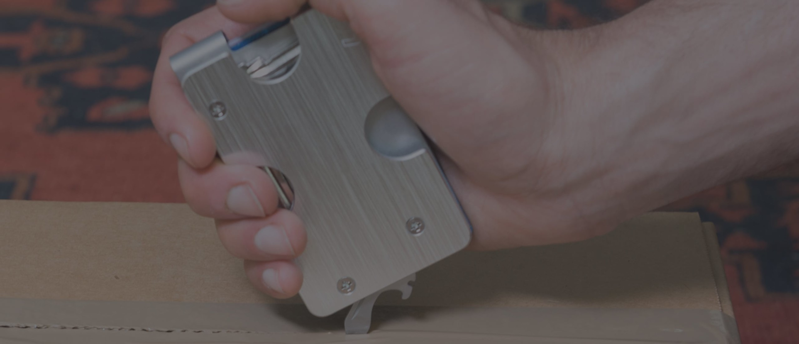 KeyClip 3-in-1 Compact Wallet