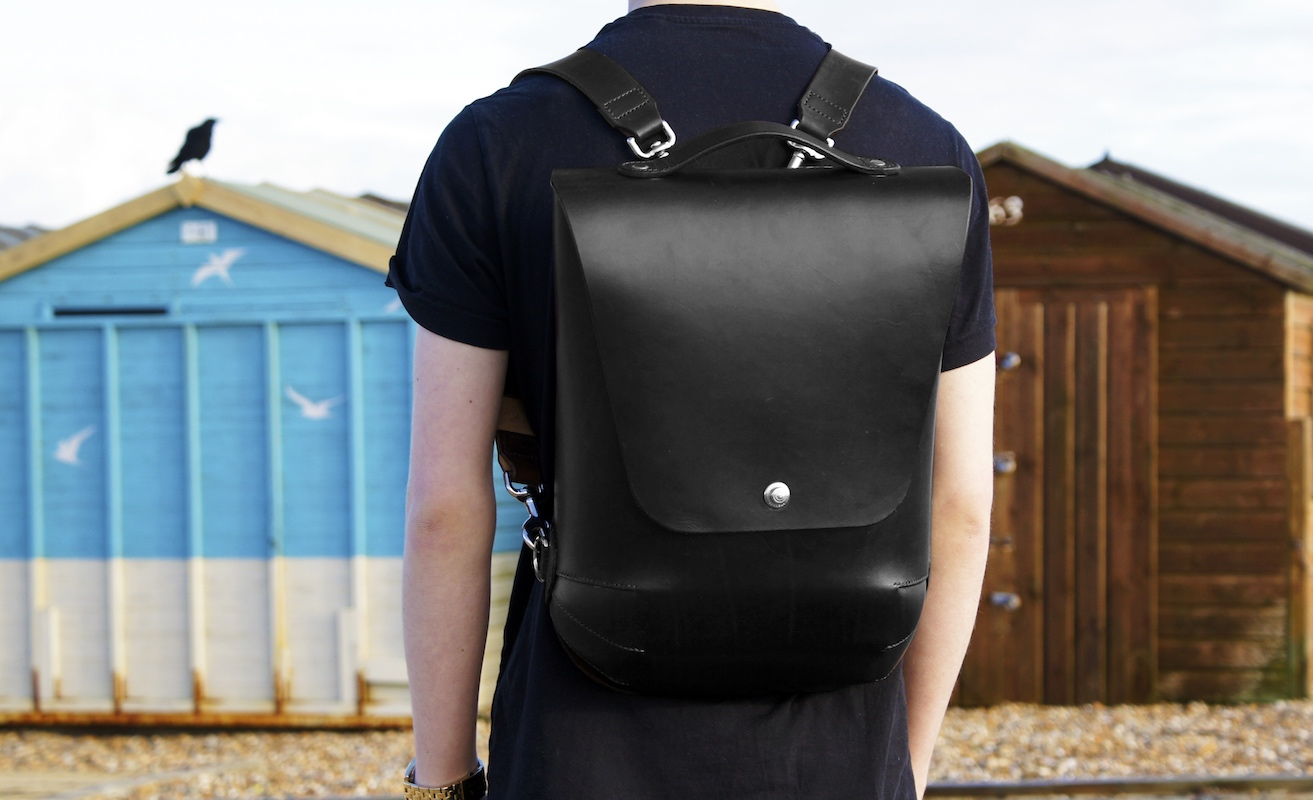 Leatherback Premium Leather Backpack