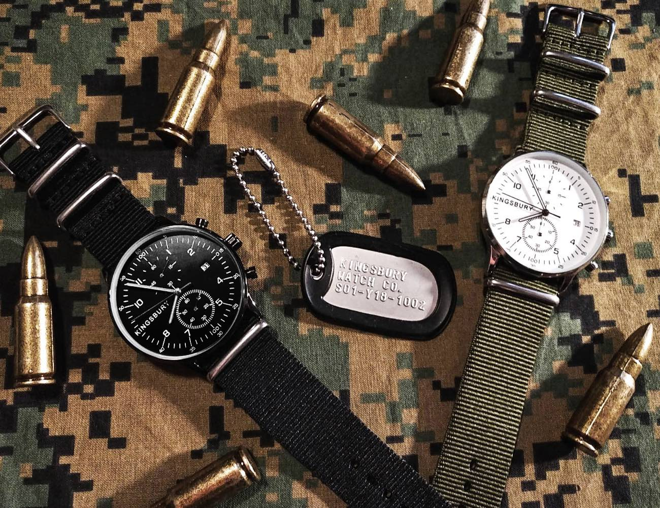 MS1 Military Watch Set