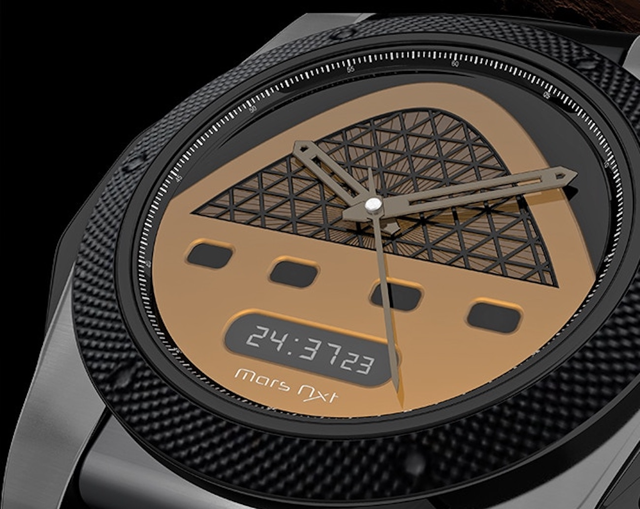 Mars Nxt Dual Time Wristwatch