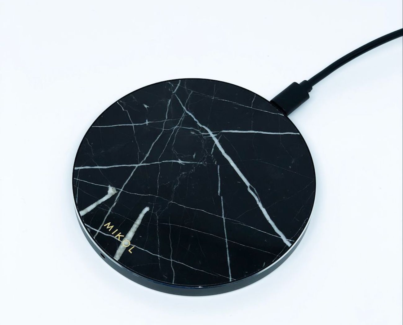 Mikol Real Marble Wireless Charging Pad