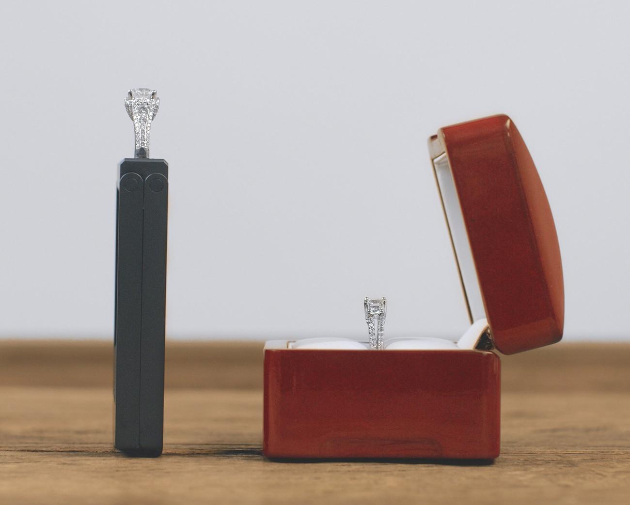 Monarch Box Slim Engagement Ring Box
