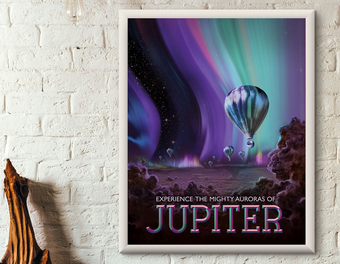 NASA Exoplanet Travel Bureau Art Reprint Posters